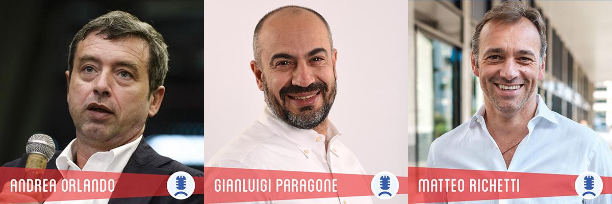 Richetti, Paragone e Andrea Orlando a Telese Terme per l'ottava edizione del Piccolo Festival della Politica